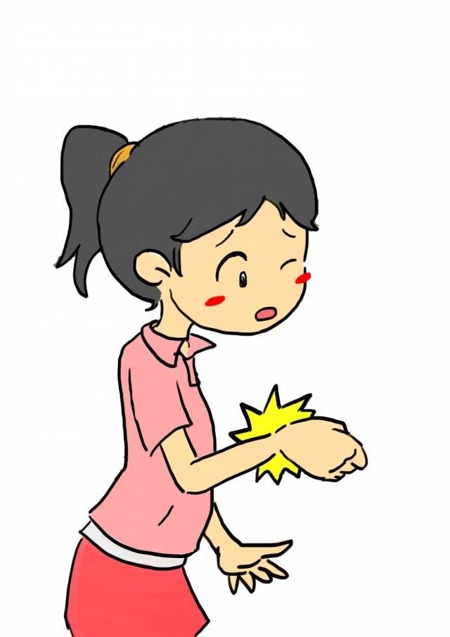 手首の痛み 腱鞘炎